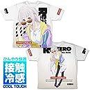 Re:ゼロから始める異世界生活 エミリア 冷感両面フルグラフィックTシャツ ストリートファッションVer./XL
