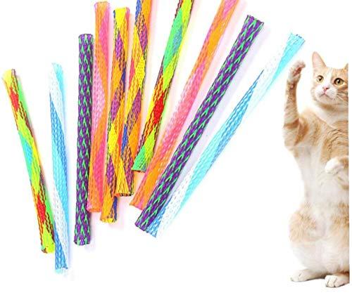 Tubo 30pcs Gato De Juguete Del Resorte Del Gatito Del Gatito De Los Juguetes Juguete Interactivo Del Gato Del Gato De Juguete Bundle Gatito Juguetes Para Gatos Prácticos Y Utilidades