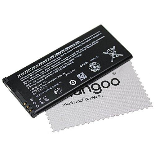 Batería Original de Microsoft BV t5e LiIon para Microsoft Lumia 950, Lumia 950Dual SIM + gratis mungoo® Pantalla paño de limpieza