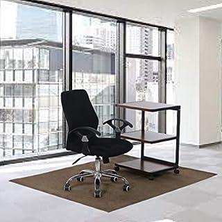 [GAREL]チェアマット 床保護マット ズレない 130×160 デスク 椅子下 傷防止 洗えるカット 自由 滑り止め 撥水 置くだけ フロアマット 特大サイズ 大判サイズ (グレー, 130×160) 床暖房対応 騒音対策 ゲーミングチェアマット