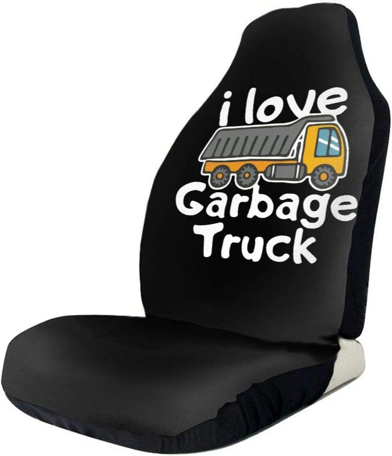 POI78 I A surprise price is realized Love Garbage Truck Novel Fashion Seat Pattern Inventory cleanup selling sale Auto Cover