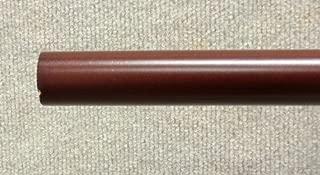 1-3/8 inch Wood Smooth Drapery Rod in Mahogany Finish - 8' long