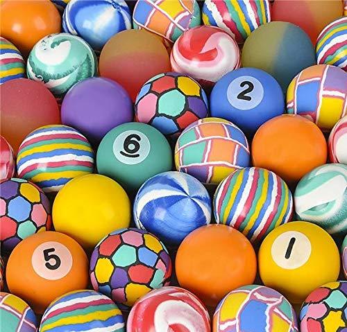 Rhode Island Novelty 45MM 1.75 Inch Hi Bounce Ball Assortment, 50 Balls per Order