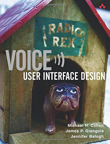 Voice User Interface Design: User Interface Design