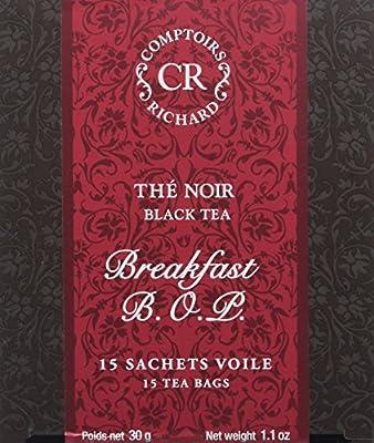 Comptoirs Richard Thé Noir Breakfast Bop 15 Sachets 30 g parent