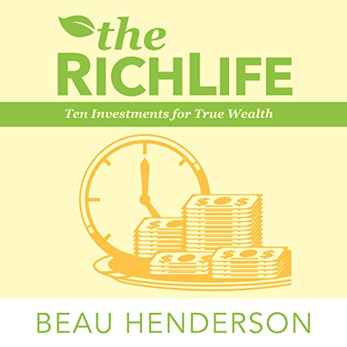 The RichLife audiobook cover art