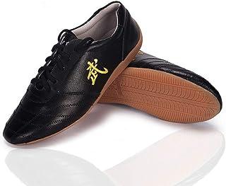 CHIYA-TAICHI Unisexe Tai chi Arts Martiaux Wudang Kung Fu Chaussures Karaté Traditionnel Qi Gong Wing Chun Formateur Panto...