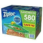 Ziploc-Easy-Open-Tabs-Sandwich-Bags-580-145-Count-Pack-of-4