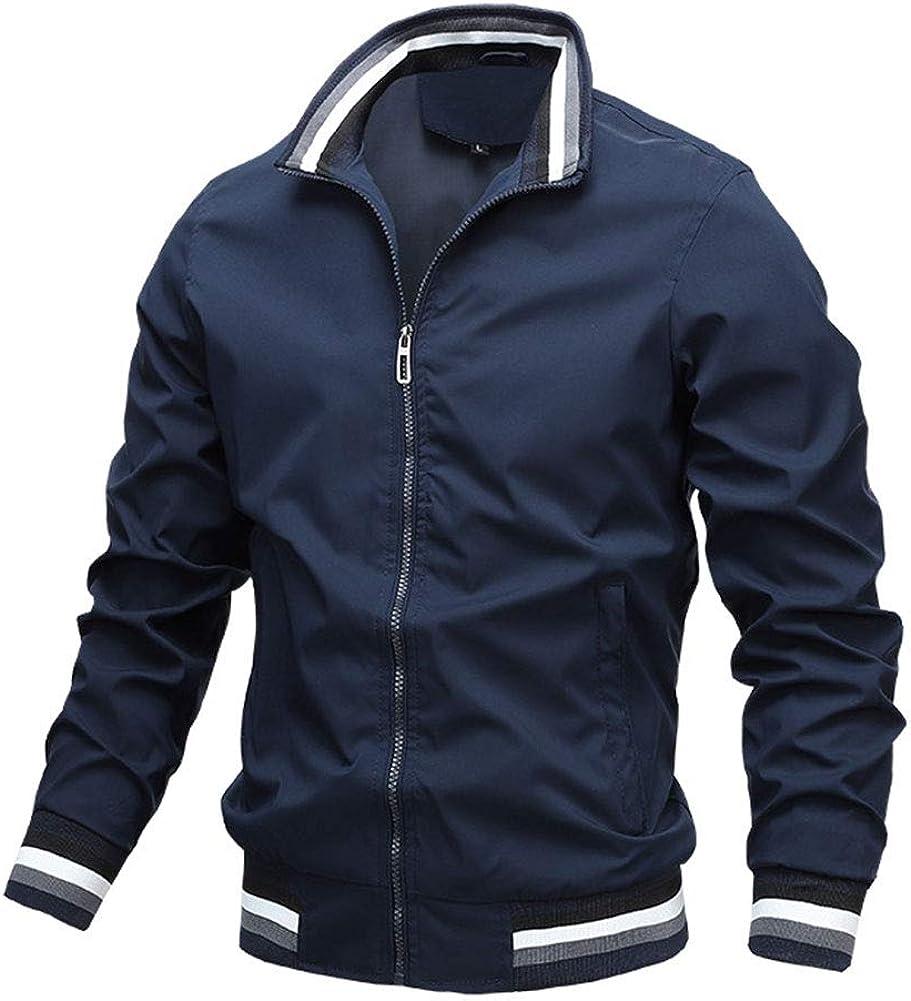 SCOFEEL Men's Lightweight Bomber Jacket Wind 1 year warranty Slim Fit 100% quality warranty! Waterproof