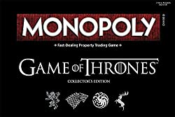 Image: Monopoly Game of Thrones Board | Based on the popular TV Show on HBO Game of Thrones