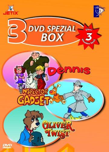 DVD Spezial Box 4: Dennis / Inspektor Gadget / Oliver Twist