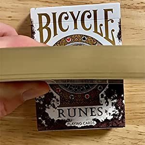 U.S.P.C.C. Gilded Bicycle Rune Playing Cards