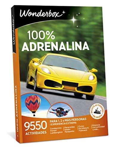 WONDERBOX Regalo Hombre -100% Adrenalina- 9.550 Actividades para una o más Personas