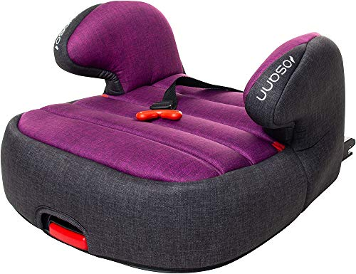 Osann Tango Isofix Kindersitz Gruppe 3 (22-36 kg) mit Gurtfix, Purple Melange