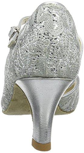 So Danca Damen Standard & Latein Tanzschuhe – Standard & Latein Bl504, Silber (Silver Sparkle), 41.5 EU (11 US) - 3
