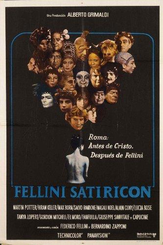 Fellini Satyricon - Movie Poster - 11 x 17