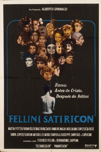 Fellini Satyricon - Movie Poster - 11 x 17