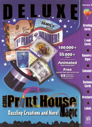 Corel Print House Magic Deluxe [Import]