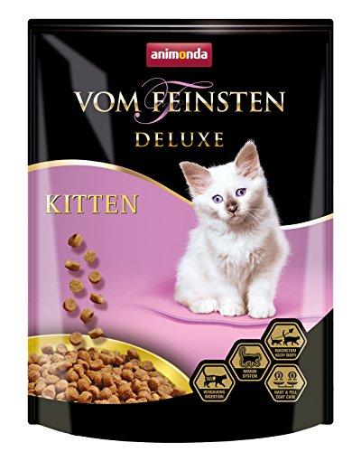animonda Vom Feinsten Deluxe Kitten Katzenfutter, Trockenfutter für Katzen im Wachstum, Geflügel, 250 g