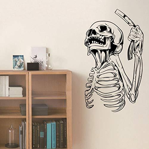 Wandaufkleber Halloween Rasiermesser Taro Boy Kinderzimmer Schlafzimmer Schaufenster Dekoration