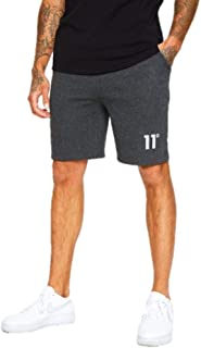 11 Degrees Core Sweat Shorts Anthracite Marl