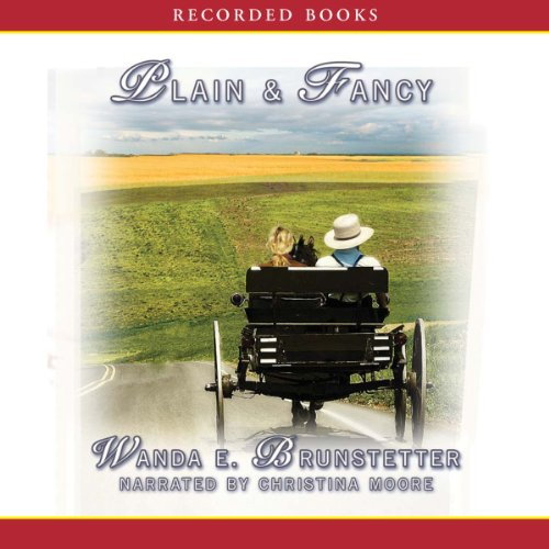 Plain and Fancy audiobook cover art
