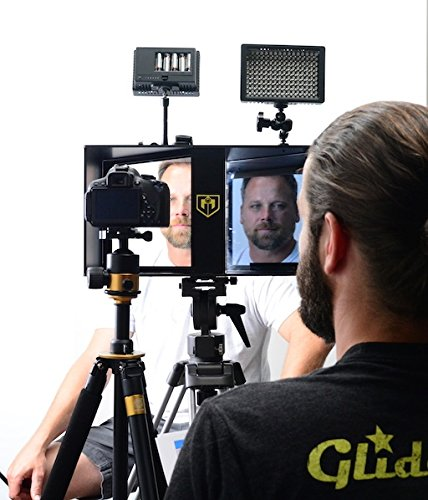 Glide Gear Face 2 Face Hybrid Interview Periscope and Teleprompter