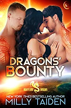 Dragons' Bounty: Paranormal Fantasy Dragon Romance (Daeria World) (Nightflame Dragons Book 3) by [Milly Taiden]