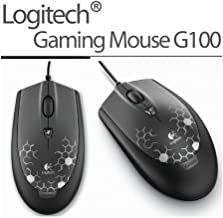 Logitech G100 Optical Gaming Mouse 2013 New version Silver for both hands