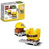 LEGO 71373 SuperMario PackPotenciador:MarioConstructor, Juguete de Construcción
