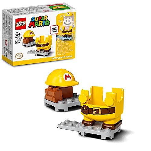 LEGO 71373 SuperMario PackPotenciador:MarioConstructor Juguete de Construcción