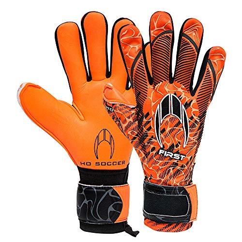 Ho Soccer First Superlight Orange Storm Torwarthandschuhe, Unisex, Erwachsene, Orange/Schwarz, 7,5