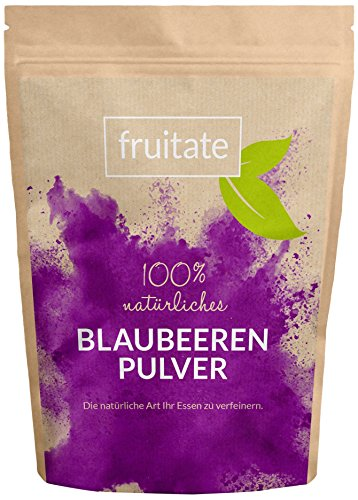 fruitate Blaubeeren Pulver 200g - 100% natürlich