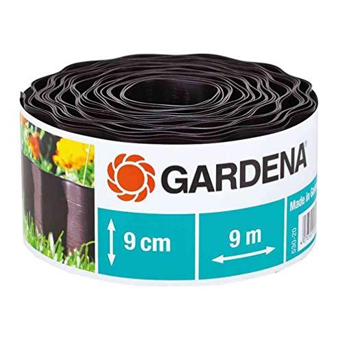 Gardena Recinzione 530-20 Letto, Alto Marrone, Roller 9 cm, Lungo 9 m