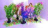 The Big Fish Beautiful Aquarium Multicolour Plants for Home Fishes Tank Decoration