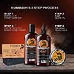 Bossman Relaxing Beard Balm - Tamer, Thickener, Relaxer and Softener Cream and Beard Care Product - Made in USA… 6