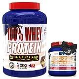 OFERTA, 100% Whey Proteína en Polvo + CREATINA o PRE-ENTRENO 300GR GRATIS-REGALO, Suplementos...