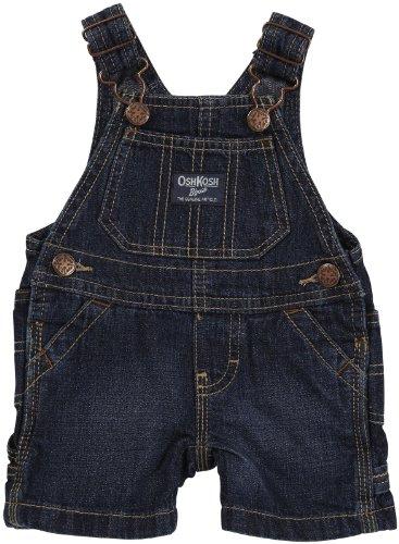 OshKosh B'Gosh 56/62 Kurze Latzhose Shorts US Size 3 Month Junge/Mädchen Hose Jeanshose Sommerhose