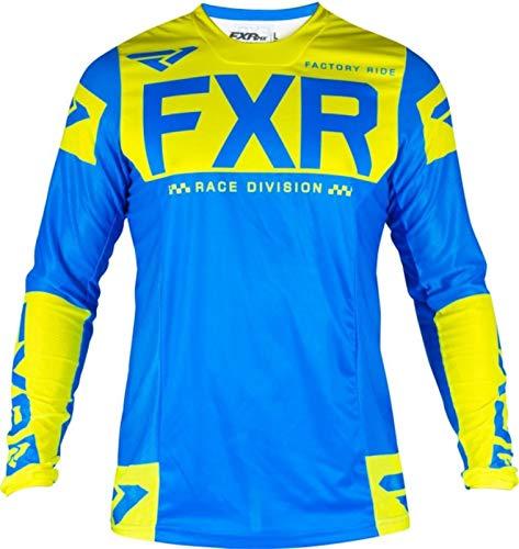 Shability NEWMotocross Hemd Motorradjacke Off-Road-T-Shirt-Fahrfahrrad Langarm-Hemd Motocross Jersey Moto Jersey yangain (Color : Purple, Size : Large)