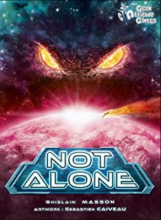 Steve Jackson Games Current Edition Not Alone Board Game