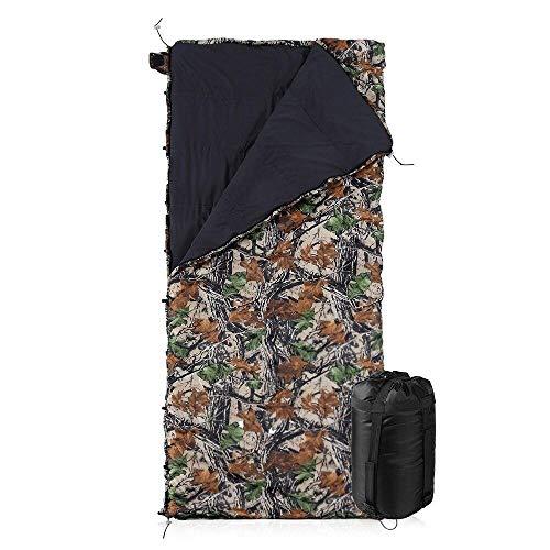 DADZSD Hamaca Multifuncional Camuflaje Underquilt Edredón Ligero para Acampar Packable Longitud Total Debajo de la Manta Saco de Dormir-Camuflaje