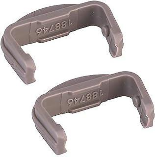 Beko DSFN1530W DE2542fW - Tapón para riel de lavavajillas (2 unidades)