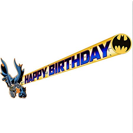 Batman The Dark Knight Jointed Banner,7.75 ft.