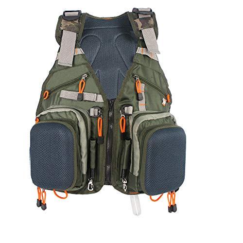 Fly Fishing Vest Pack Adjustable Fishing Backpack