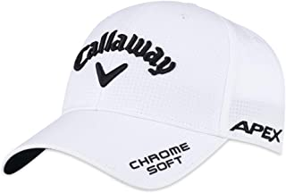 Callaway Golf CALLAWAY HEADWEAR Callaway Golf Hat TA Performance Pro Deep (Adjustable, Black, Mens Headwear)