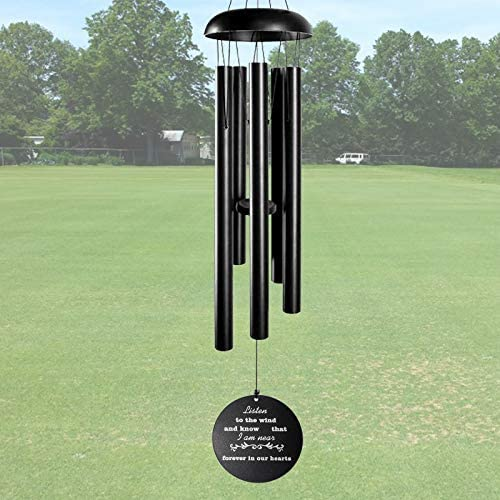 ARARTKEL Wind Chimes for Outside Deep Tone Memorial Wind Chimes as Sympathy Gift 32 Inch Windchimes product image