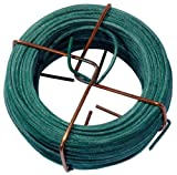 Connex FLOR78620 Filo, Ferro, Plastificato, 2.0 mm x 30 mt, Verde