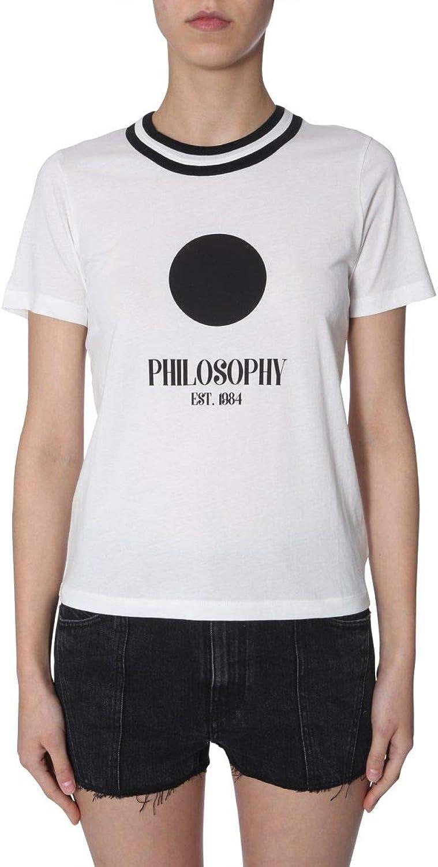 Philosophy Women's 070421450002 White Cotton TShirt