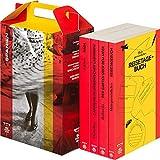 SZ Literaturkoffer Spanien. 4 Bände: Nada, Carmen Laforet; Der Garten über dem Meer, Mercè Rodoreda; Verloren im Labyrinth, Manuel Vázquez Montalbán; Reisebuch Spanien im TB Format
