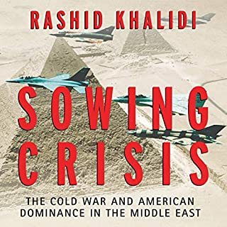 Sowing Crisis audiobook cover art
